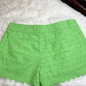 Lilly Pulitzer Shorts - Lime Green Lily Pulitzer shorts